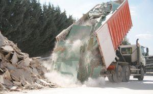 traitement des déchets de démolition
